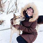 Катание, езда на собачьих упряжках